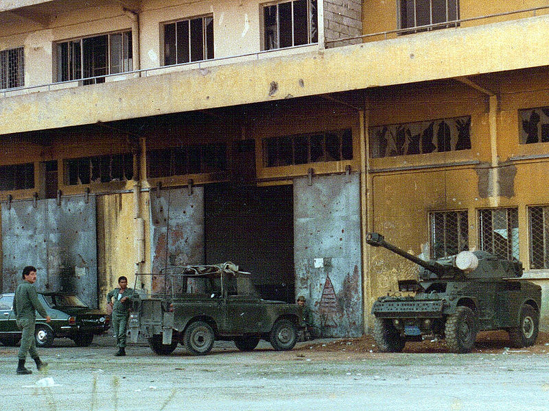 Operación Paz para la Galilea / Guerra del Líbano 1982